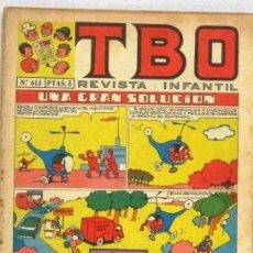 BDs: TBO REVISTA INFANTIL - Nº 613 - UNA GRAN SOLUCION - COMIC. Lote 235037455