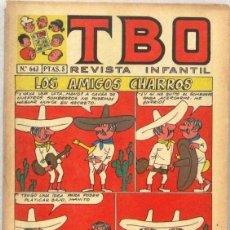 BDs: TBO REVISTA INFANTIL - Nº 643 - LOS AMIGOS CHARROS - COMIC. Lote 235061160