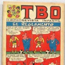 BDs: TBO REVISTA INFANTIL - Nº 650 - EL REGLAMENTO - COMIC. Lote 235062320