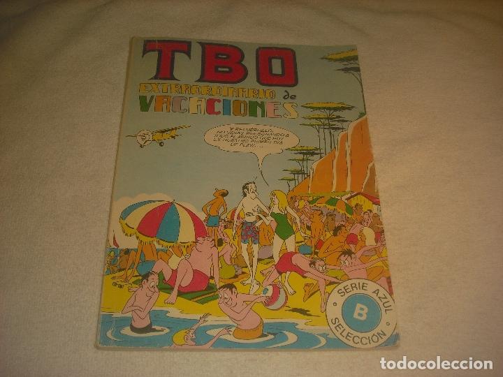 TBO, EXTRAORDINARIO DE VACACIONES , SERIE AZUL, RETAPADO . (Tebeos y Comics - Buigas - TBO)
