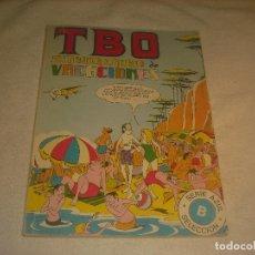 Tebeos: TBO, EXTRAORDINARIO DE VACACIONES , SERIE AZUL, RETAPADO .. Lote 235322675