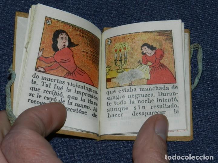 Tebeos: (M0) BIBLIOTECA B B BARBA AZUL - EDICIONES TBO, BENEJAM N.14, AÑOS 40 LIBRO EN MINIATURA - Foto 3 - 236194950