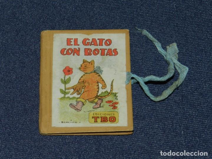 (M0) BIBLIOTECA B B EL GATO CON BOTAS - EDICIONES TBO, BENEJAM N.4, AÑOS 40 LIBRO EN MINIATURA (Tebeos y Comics - Buigas - TBO)