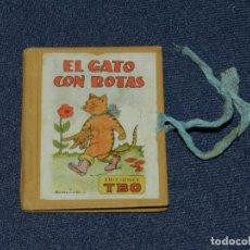 Tebeos: (M0) BIBLIOTECA B B EL GATO CON BOTAS - EDICIONES TBO, BENEJAM N.4, AÑOS 40 LIBRO EN MINIATURA. Lote 236195285