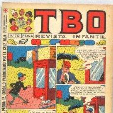 BDs: TBO REVISTA INFANTIL - Nº 712 - EL REFUGIO - COMIC. Lote 236203155