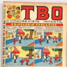 BDs: TBO REVISTA INFANTIL - Nº 713 - PSICOLOGIA EVOLUTIVA - COMIC. Lote 236203590