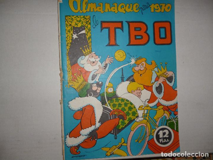 TBO ALMANAQUE PARA 1970 - 12 PTAS - CONTIENE RECORTABLE DE CABALGATA REYES MAYOS Y SU CORTEJO - (Tebeos y Comics - Buigas - TBO)