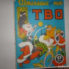 Tebeos: TBO ALMANAQUE PARA 1970 - 12 PTAS - CONTIENE RECORTABLE DE CABALGATA REYES MAYOS Y SU CORTEJO -. Lote 236982905