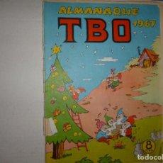 Tebeos: TBO ALMANAQUE 1967 - 8 PTAS - CONTIENE RECORTABLE DE BELÉN -. Lote 236990575