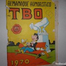 Tebeos: TBO ALMANAQUE HUMORISTICO 1970 - 10 PTAS - CONTIENE EL NACIMIENTO EN UN ROMPECABEZAS -. Lote 237181850