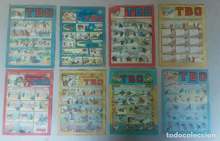 TIRAS COMICAS ALMANAQUE TBO ANTIGUOS (Tebeos y Comics - Buigas - TBO)