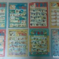 Tebeos: TIRAS COMICAS ALMANAQUE TBO ANTIGUOS. Lote 238076320