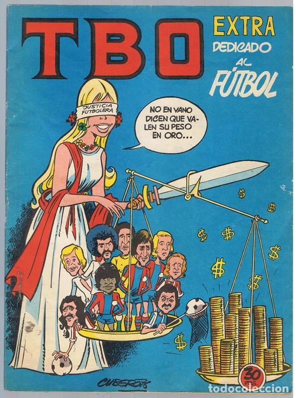 TBO EXTRA DEDICADO AL FUTBOL (Tebeos y Comics - Buigas - TBO)