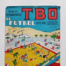 BDs: ANTIGUO TBO EL FUTBOL NUMERO EXTRAORDINARIO MAYO 1968 RV. Lote 240261795