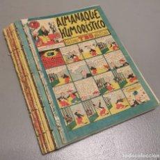 BDs: NUMULITE * ALMANAQUE HUMORÍSTICO 18 EJEMPLARES EDICIONES TBO BARCELONA. Lote 240913660