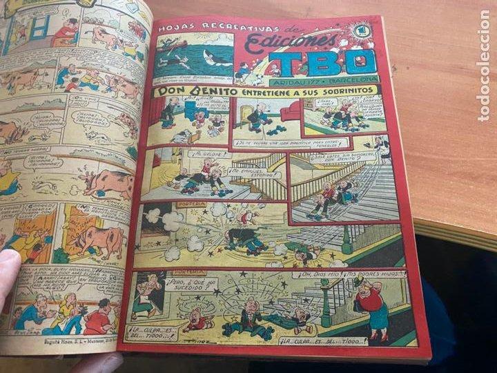 Tebeos: TBO TOMO CON 78 EJEMPLARES ALMANAQUE 1950 1951 1952 HUMORISTICO 53 Y 74 NO NUMERADOS (COIB191) - Foto 5 - 241651165