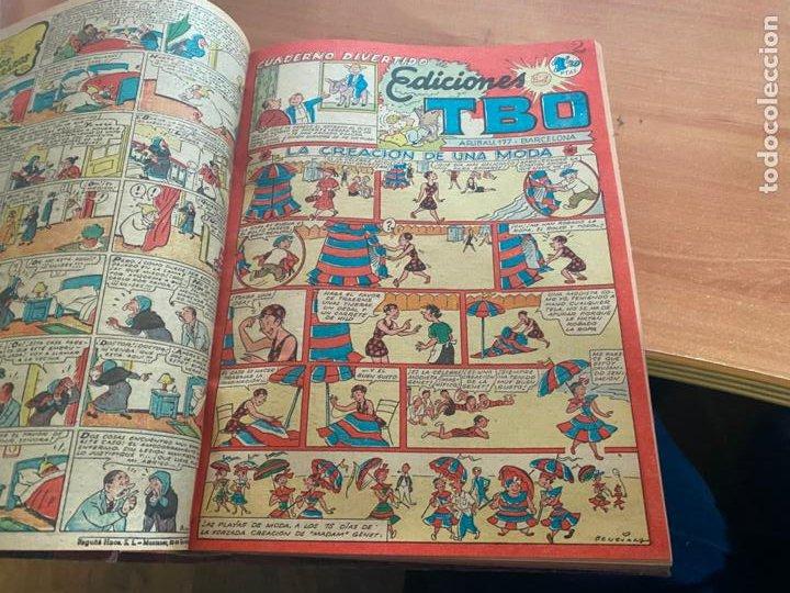 Tebeos: TBO TOMO CON 78 EJEMPLARES ALMANAQUE 1950 1951 1952 HUMORISTICO 53 Y 74 NO NUMERADOS (COIB191) - Foto 6 - 241651165