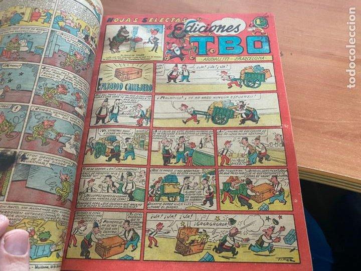 Tebeos: TBO TOMO CON 78 EJEMPLARES ALMANAQUE 1950 1951 1952 HUMORISTICO 53 Y 74 NO NUMERADOS (COIB191) - Foto 7 - 241651165