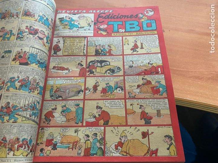 Tebeos: TBO TOMO CON 78 EJEMPLARES ALMANAQUE 1950 1951 1952 HUMORISTICO 53 Y 74 NO NUMERADOS (COIB191) - Foto 9 - 241651165