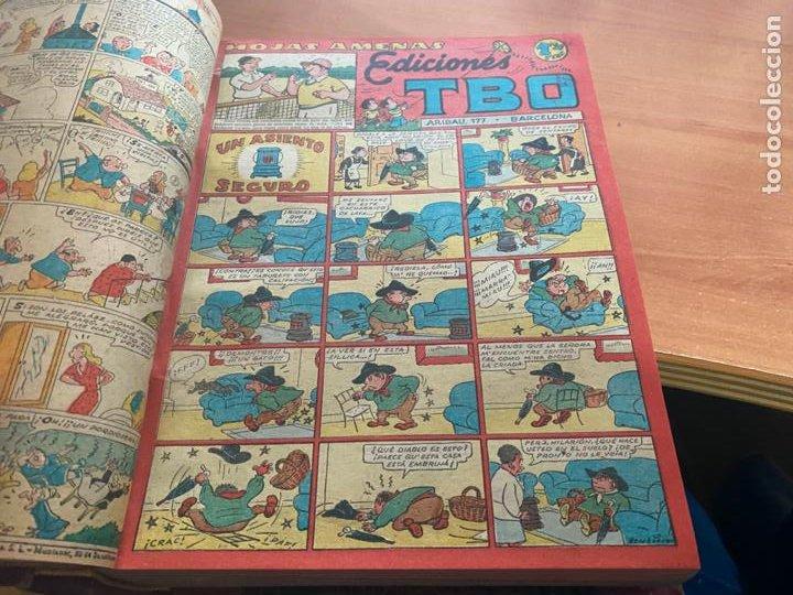 Tebeos: TBO TOMO CON 78 EJEMPLARES ALMANAQUE 1950 1951 1952 HUMORISTICO 53 Y 74 NO NUMERADOS (COIB191) - Foto 10 - 241651165
