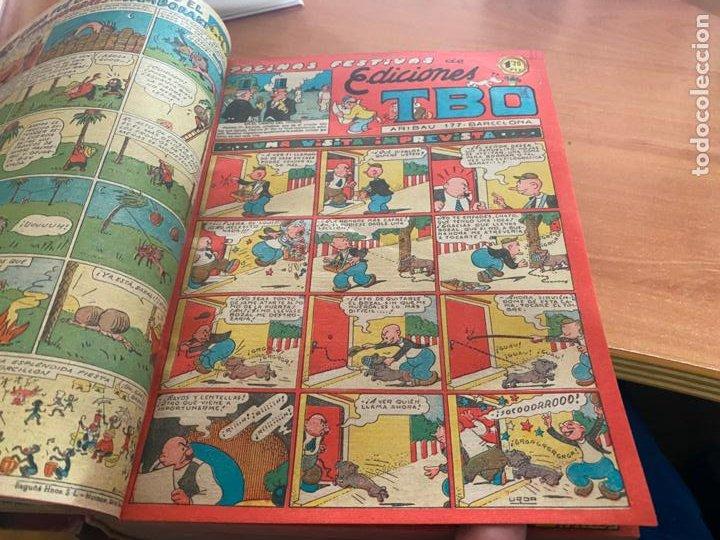 Tebeos: TBO TOMO CON 78 EJEMPLARES ALMANAQUE 1950 1951 1952 HUMORISTICO 53 Y 74 NO NUMERADOS (COIB191) - Foto 12 - 241651165