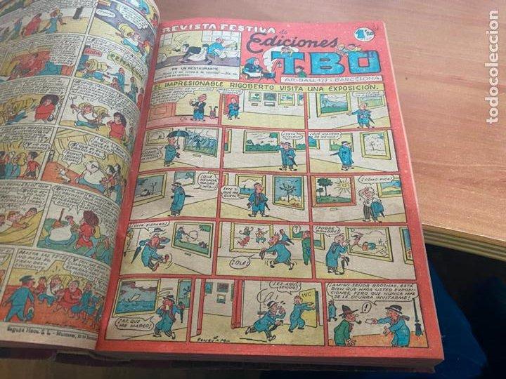 Tebeos: TBO TOMO CON 78 EJEMPLARES ALMANAQUE 1950 1951 1952 HUMORISTICO 53 Y 74 NO NUMERADOS (COIB191) - Foto 13 - 241651165