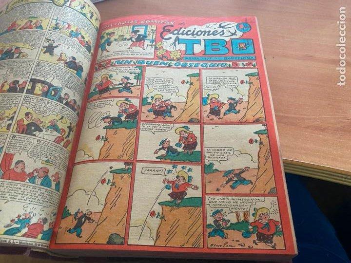 Tebeos: TBO TOMO CON 78 EJEMPLARES ALMANAQUE 1950 1951 1952 HUMORISTICO 53 Y 74 NO NUMERADOS (COIB191) - Foto 17 - 241651165