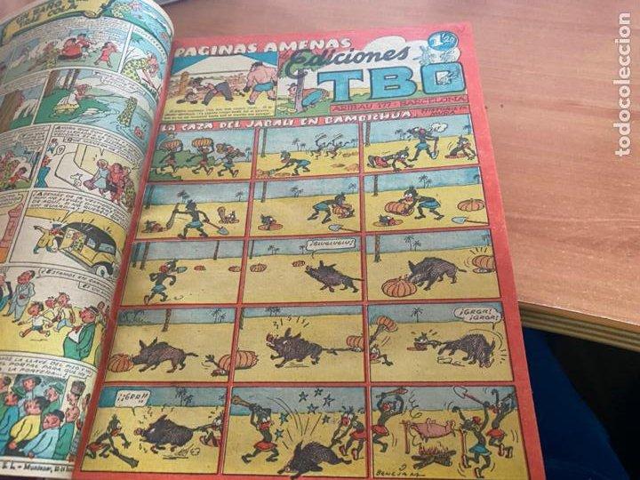Tebeos: TBO TOMO CON 78 EJEMPLARES ALMANAQUE 1950 1951 1952 HUMORISTICO 53 Y 74 NO NUMERADOS (COIB191) - Foto 19 - 241651165