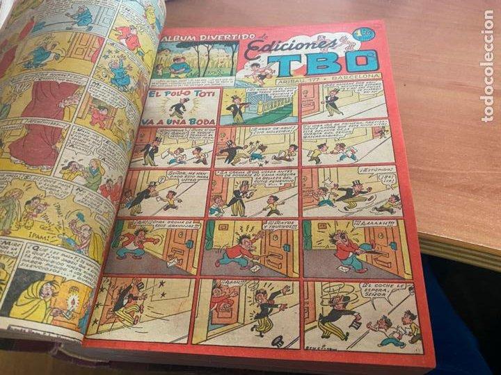 Tebeos: TBO TOMO CON 78 EJEMPLARES ALMANAQUE 1950 1951 1952 HUMORISTICO 53 Y 74 NO NUMERADOS (COIB191) - Foto 20 - 241651165
