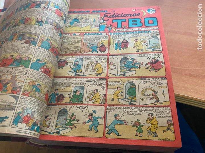 Tebeos: TBO TOMO CON 78 EJEMPLARES ALMANAQUE 1950 1951 1952 HUMORISTICO 53 Y 74 NO NUMERADOS (COIB191) - Foto 21 - 241651165