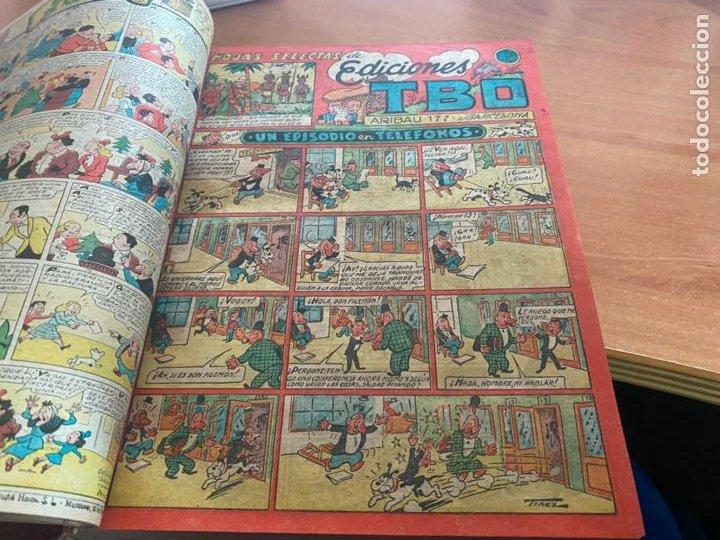 Tebeos: TBO TOMO CON 78 EJEMPLARES ALMANAQUE 1950 1951 1952 HUMORISTICO 53 Y 74 NO NUMERADOS (COIB191) - Foto 24 - 241651165
