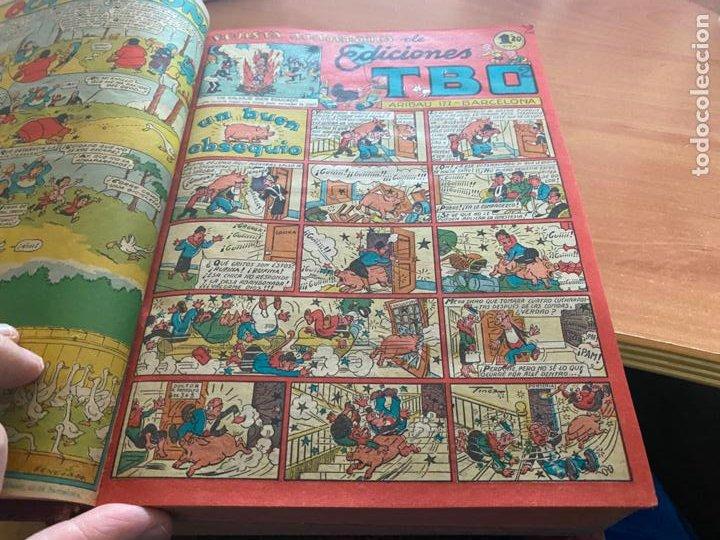 Tebeos: TBO TOMO CON 78 EJEMPLARES ALMANAQUE 1950 1951 1952 HUMORISTICO 53 Y 74 NO NUMERADOS (COIB191) - Foto 26 - 241651165