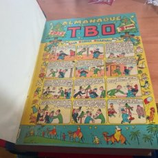 Tebeos: TBO TOMO CON 61 EJEMPLARES ALMANAQUE 1955 1956 HUMORISTICO 55 56 Y 57 Y NUMERADOS 71 A 126 (COIB191). Lote 241664855