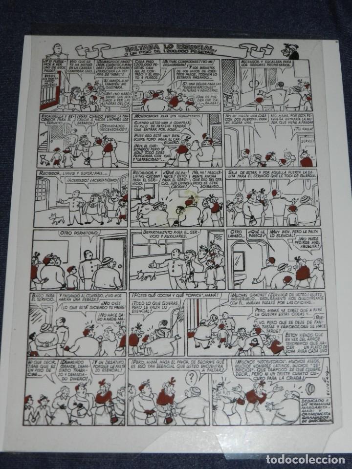 (M1) FOTOLITO BENEJAM - FAMILIA ULISES FALTABA LO ESENCIAL (ORIGINAL) - 29 X 20 CM (Tebeos y Comics - Buigas - TBO)