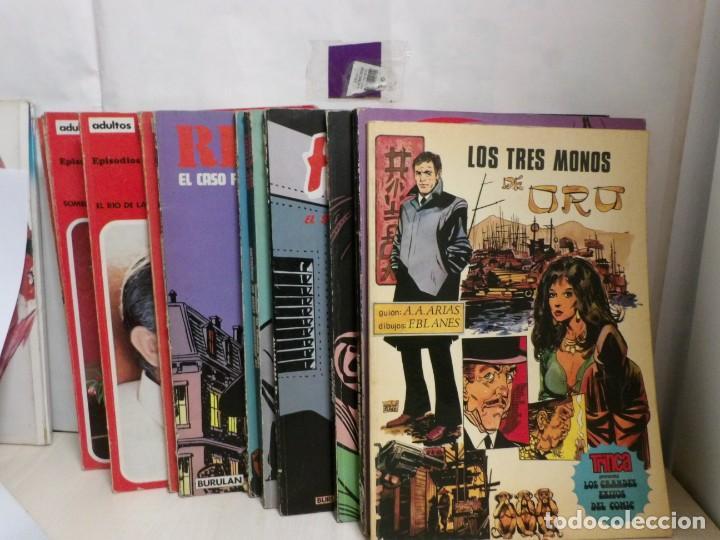 14 TBO BURULAN ENTRE LOS AÑOS -1973 -1976--ESTAN PUESTAS TODAS LAS FOTOGRAFIAS (Tebeos y Comics - Buigas - Otros)