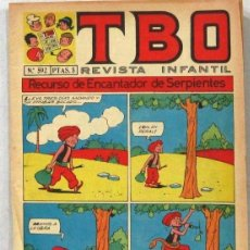 BDs: TBO -REVISTA JUVENIL - Nº 592 - - COMIC. Lote 243166215