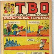 BDs: TBO -REVISTA JUVENIL - Nº 595 - - COMIC. Lote 243166545