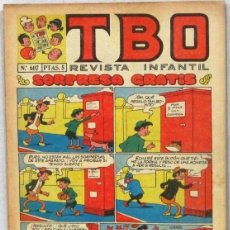 BDs: TBO -REVISTA JUVENIL - Nº 607 - COMIC. Lote 243167000