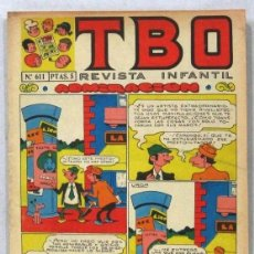 BDs: TBO - REVISTA INFANTIL - Nº 611 - COMIC. Lote 243167330