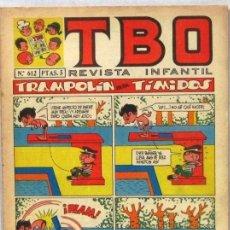 BDs: TBO - REVISTA INFANTIL - Nº 612 - COMIC. Lote 243167495