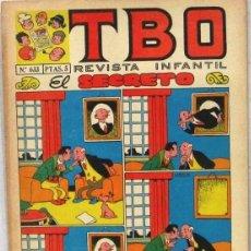 BDs: TBO - REVISTA INFANTIL - Nº 633 - COMIC. Lote 243168295