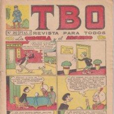 BDs: T B O : NUMERO 392 LA QUINIELA Y EL ADIVINO, EDITORIAL BUIGAS. Lote 243169695
