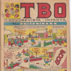 BDs: T B O : NUMERO 585 EL QUITANIEVES, EDITORIAL BUIGAS. Lote 243170200