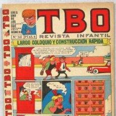 BDs: TBO - REVISTA INFANTIL - Nº 745 - COMIC. Lote 243172685