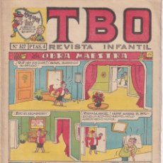 BDs: T B O : NUMERO 527 LA OBRA MAESTRA, EDITORIAL BUIGAS. Lote 243184975