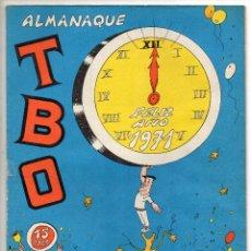 Livros de Banda Desenhada: TBO ALMANAQUE 1971 (BUIGAS, ESTIVILL Y VIÑA 1970). Lote 243435865