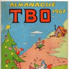 Livros de Banda Desenhada: TBO ALMANAQUE 1967 (BUIGAS, ESTIVILL Y VIÑA 1966). Lote 243437140