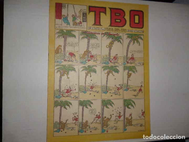 TBO Nº 202 - PTAS 2 - 1952 - ALMUERZO EN EL DESIERTO - (Tebeos y Comics - Buigas - Otros)