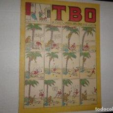Tebeos: TBO Nº 202 - PTAS 2 - 1952 - ALMUERZO EN EL DESIERTO -. Lote 244432235