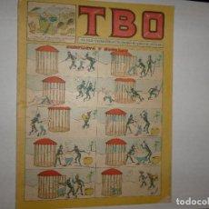 Tebeos: TBO Nº 79 - SEGUNDA ÉPOCA - CONFLICTO Y RECURSO - AÑO 1955 - 1.40 PTAS -. Lote 244596020